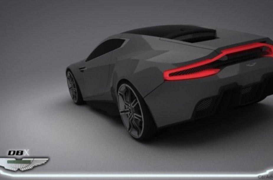 """Aston Martin DBX"" koncepcinis modelis"