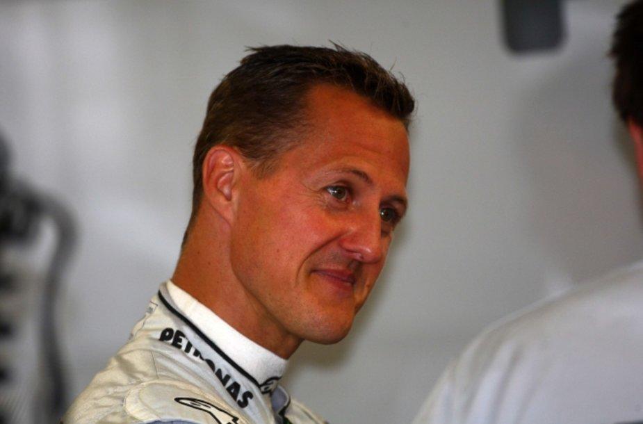 "Michaelis Schumacheris/""Mercedes GP"""