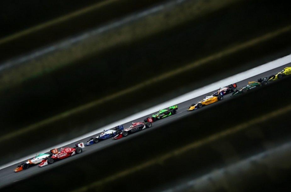 """Indycar"" lenktynės Naujajame Hempšyre"