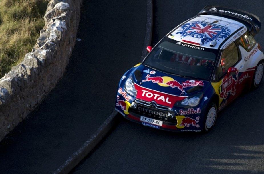 "Sebastienas Loebas, ""Citroen DS3 WRC"""