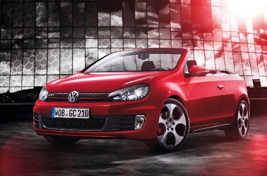 """Volkswagen Golf GTI"" kabrioletas"