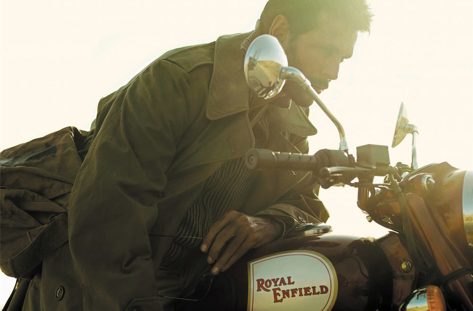 """Royal Enfield"" motociklas"