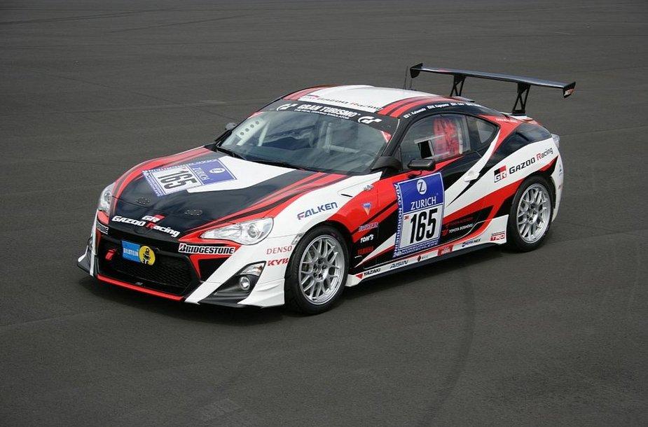 "Niurburgringo 24 valandų lenktynėms skirtas ""Toyota GT 86"""
