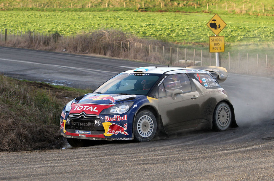 "Mikko Hirvonenas, ""Citroen DS3 WRC"""