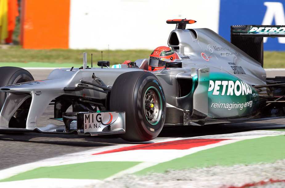 "Michaelis Schumacheris, ""Mercedes GP"""