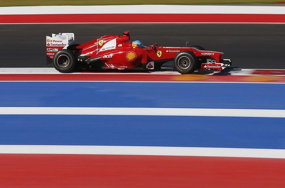 """Fernando Alonso, """"Scuderia Ferrari"""""""
