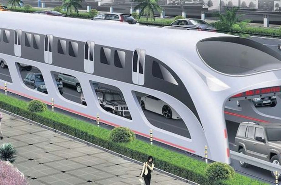 """3D Fast Bus"""