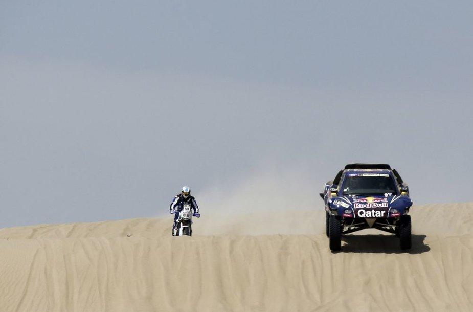 Dakaro ralis: pirmas greičio ruožas