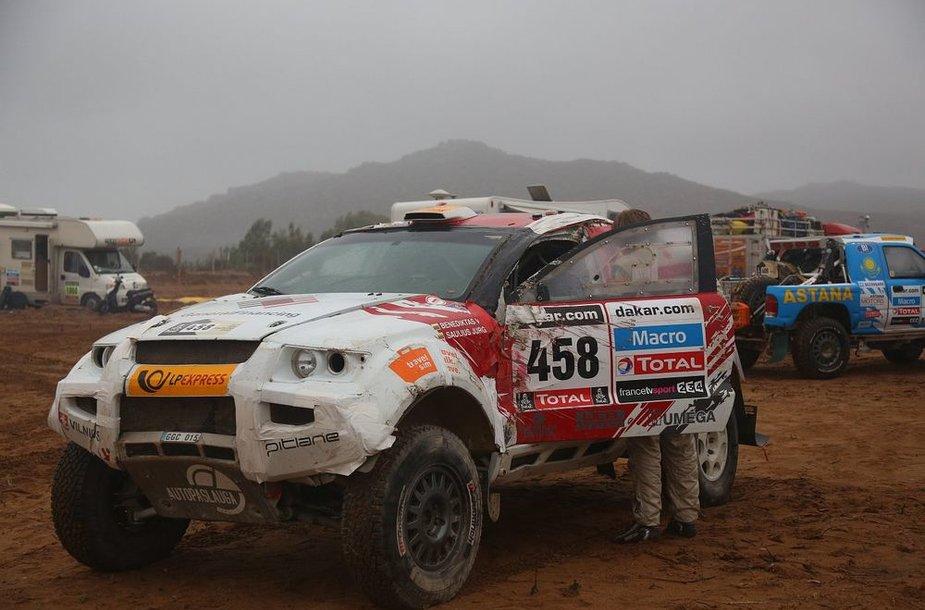 Lietuviai išvyksta į paskutinį Dakaro greičio ruožą