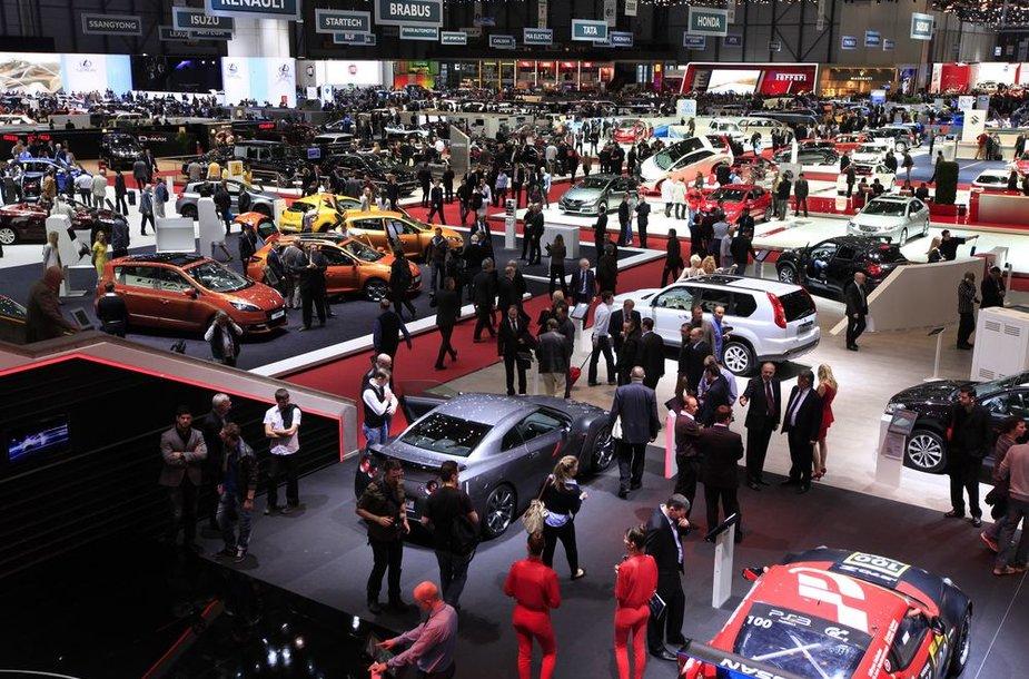Ženevos automobilių paroda 2012