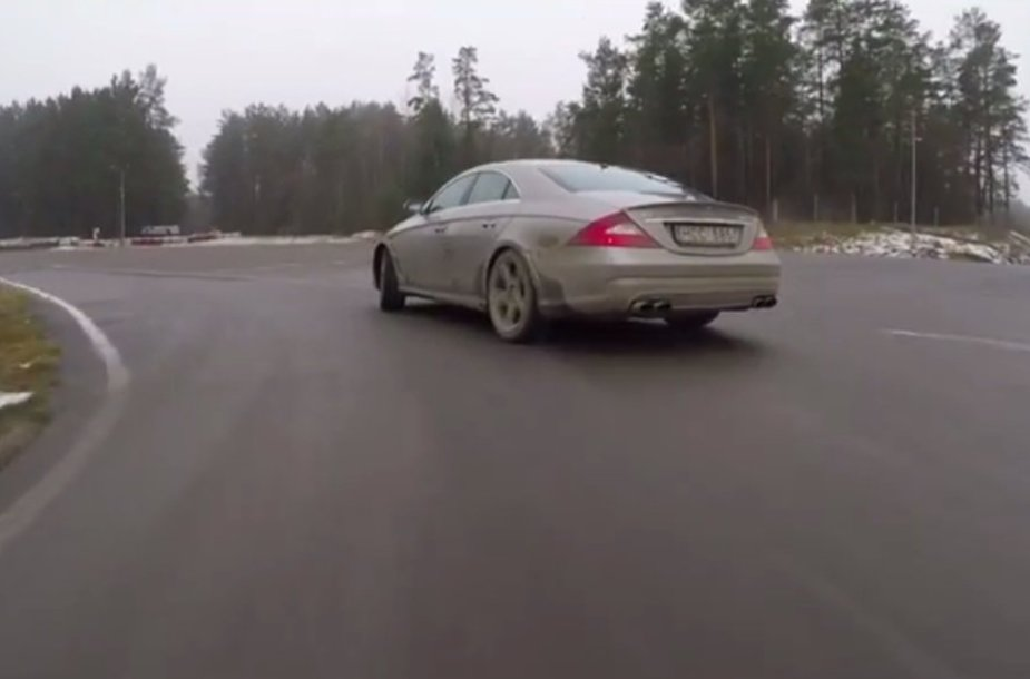 "Gytis Vaitulionis vairuoja ""Mercedes-Benz CLS55 AMG"""