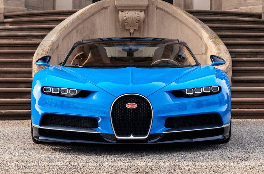 """Bugatti Chiron"" — 2,6 mln. dolerių"
