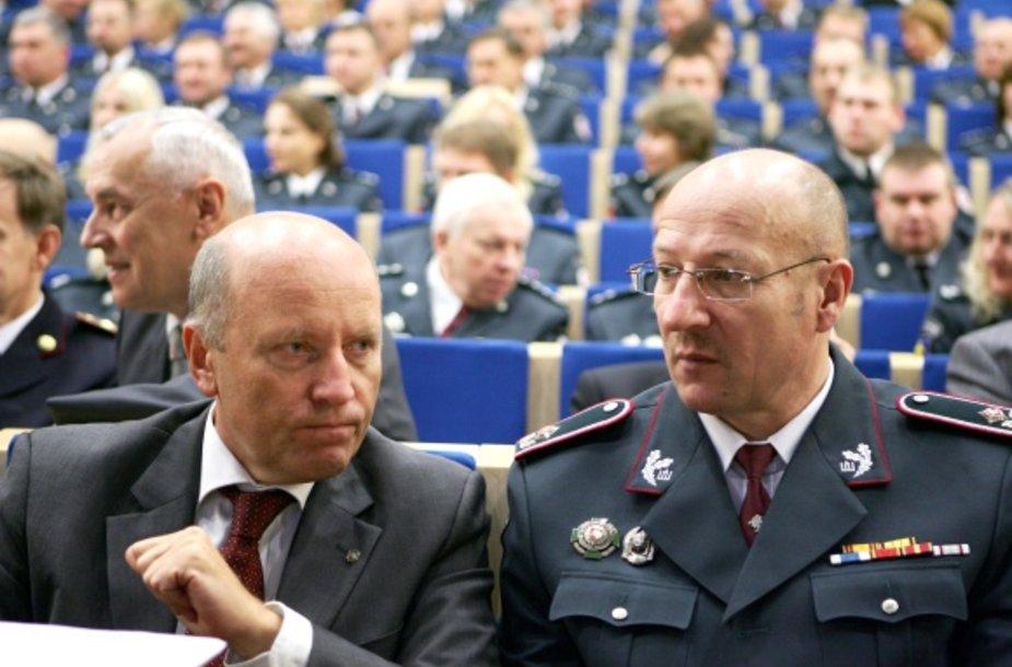 Raimundas Palaitis ir Visvaldas Račkauskas