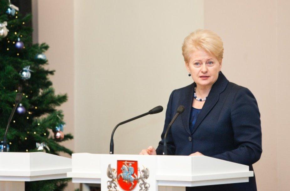Prezidentė pasveikino žinių ekonomikos lyderius