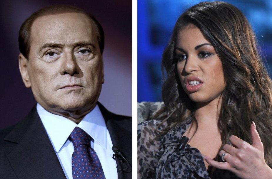 Silvio Berlusconi ir Karima El Mahroug
