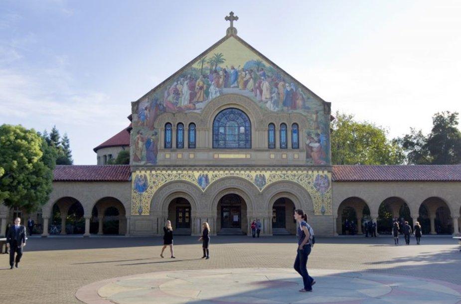 Memorialinė bažnyčia Stanfordo universiteto studentų miestelyje, kurioje buvo pagerbtas Steve'as Jobsas