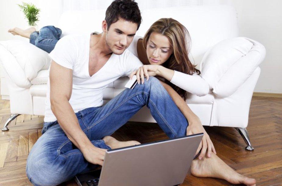 Dovanas patogu pirkti internetu