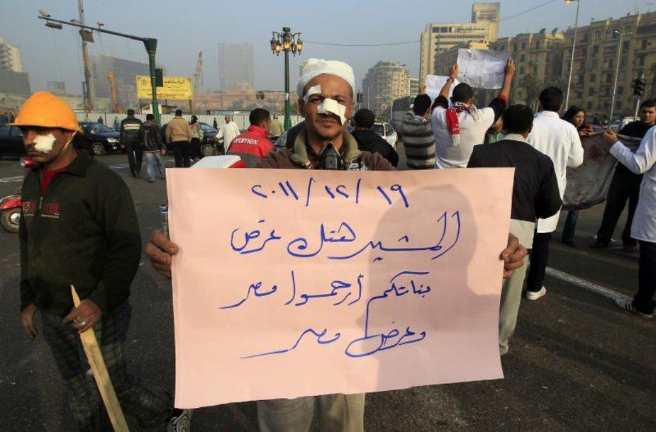 Protestas Kaire