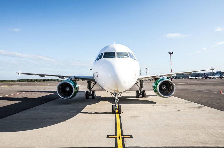 """""""GetJet Airlines"""" orlaivių parkas pasipildė """"Airbus"""" A319 lėktuvais"""