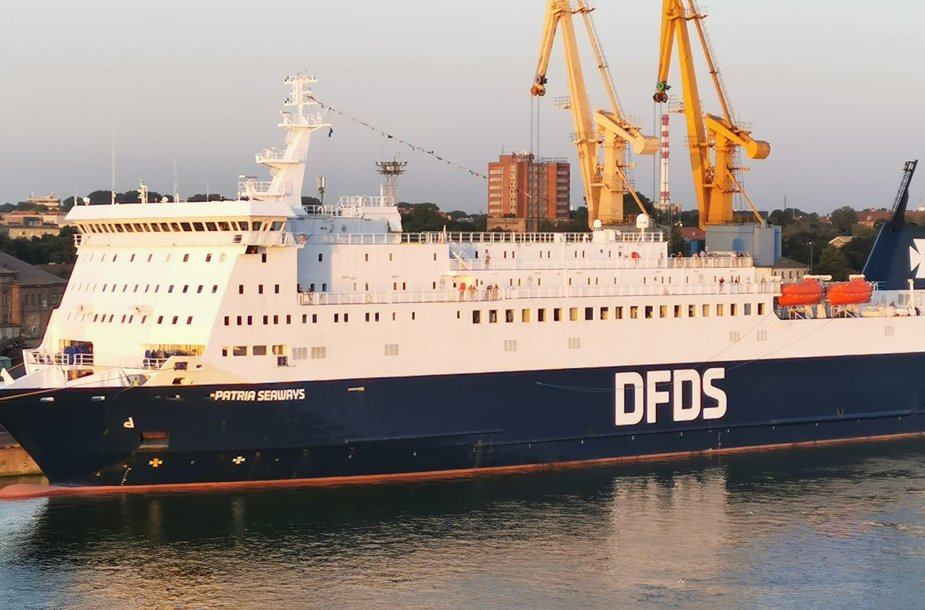 """DFDS keltas """"Patria"""""""