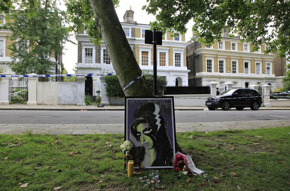 Šiame name gyveno ir mirė garsioji dainininkė Amy Winehouse