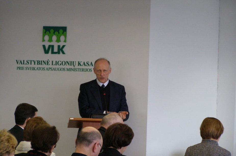 VLK direktorius Algis Sasnauskas