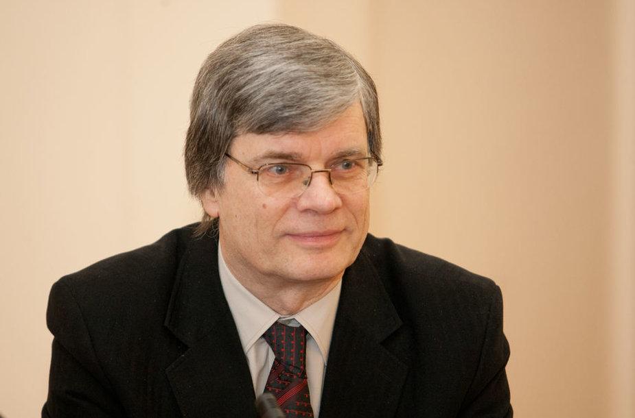 Mokslo tarybos pirmininkas Eugenijus Butkus