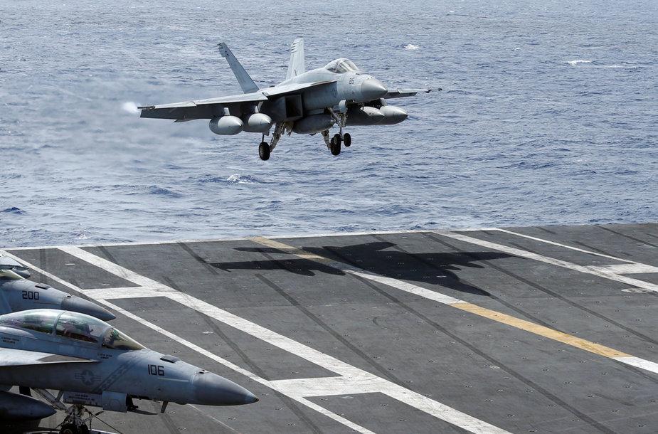 """""""F/A-18 Super Hornet"""" lėktuvas"""