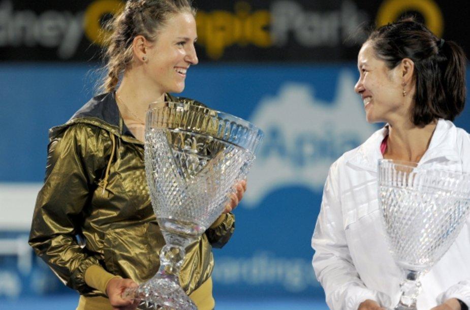 Viktorija Azarenka ir Li Na