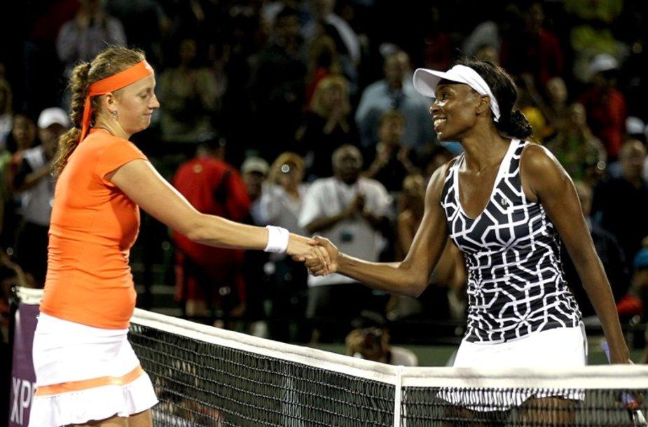 Petra Kvitova ir Venus Williams