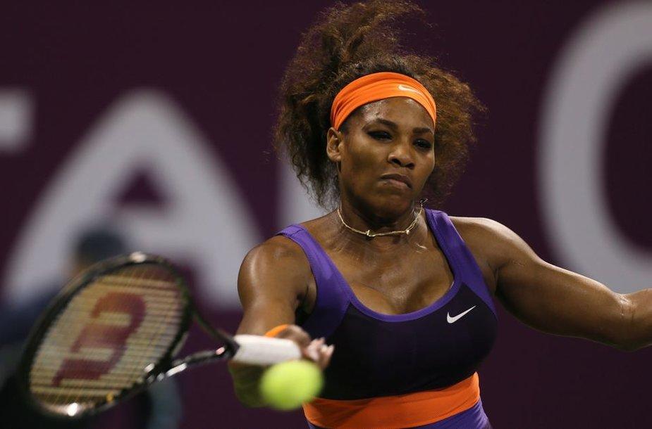 Serena Williams jau užsitikrino pirmos pasaulio raketės titulą