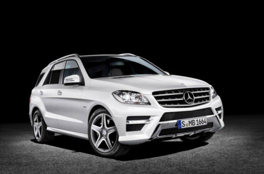 """Naujasis """"Mercedes-Benz ML"""""""