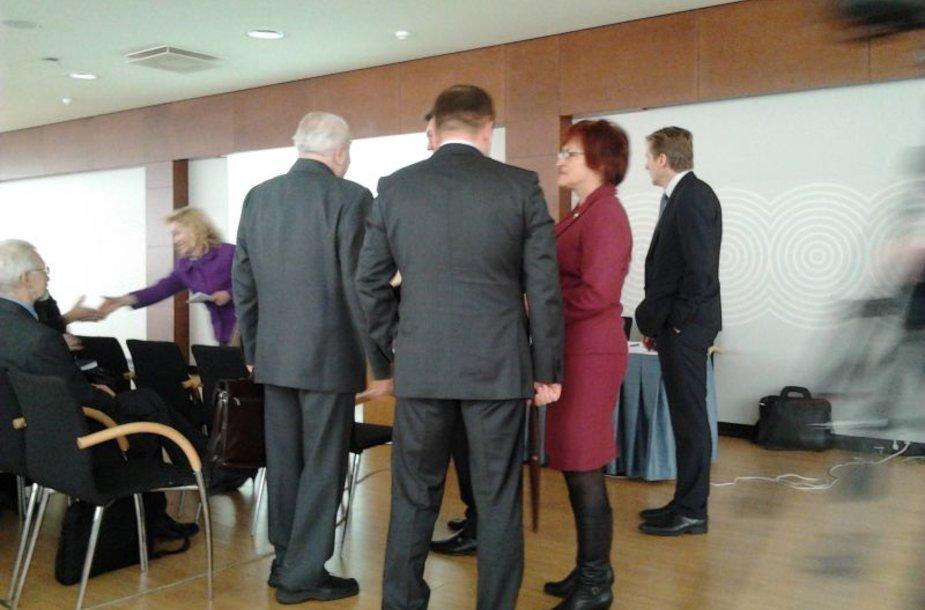 Socialdemokratų ir energetikų diskusija