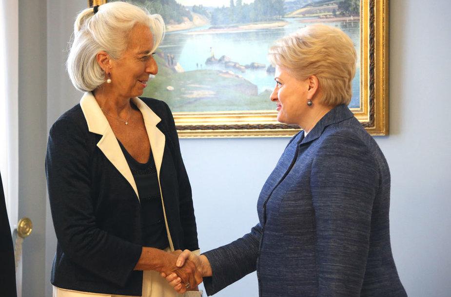 Christine Lagarde ir Dalia Grybauskaitė