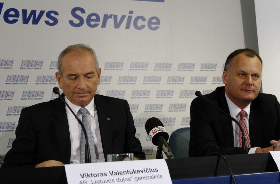 Viktoras Valentukevičius ir Saulius Bilys