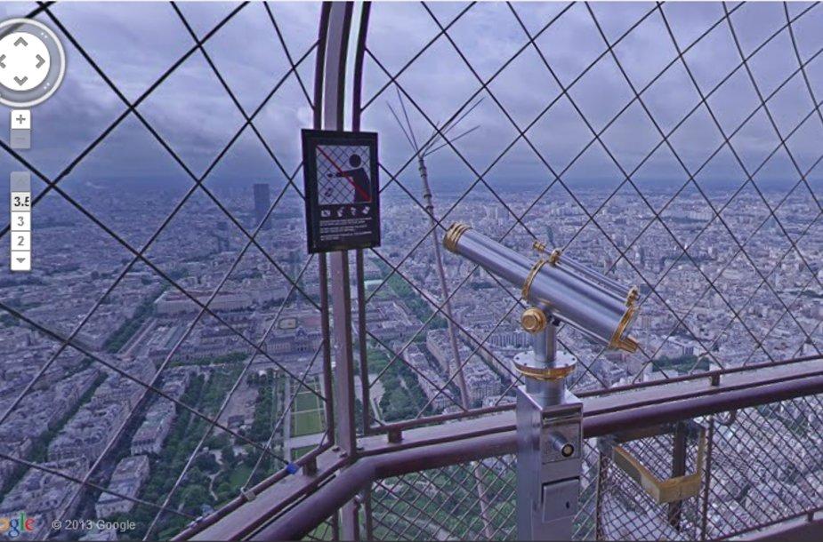 Turas po Eifelio bokštą