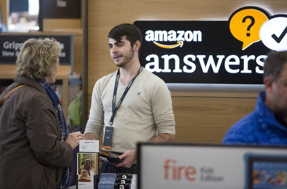"""Amazon"" atidarė pirmąjį knygyną"