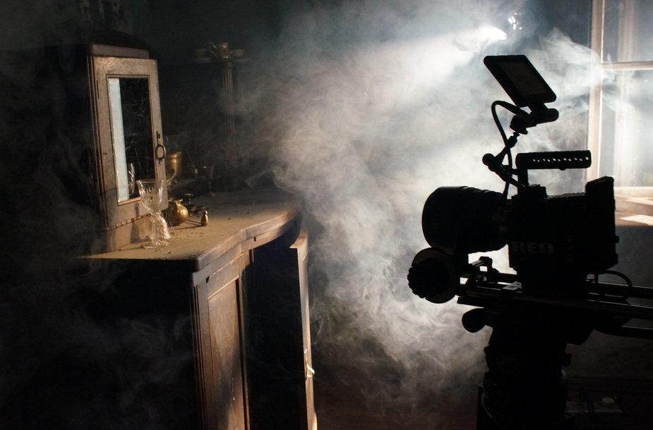 25. Tuštumos kilpos filmavimo aikštelė. Eglės Burbaitės nuotr.