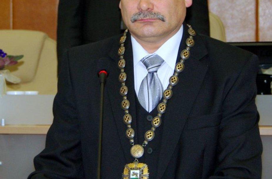 Raseinių meras Algimantas Mielinis