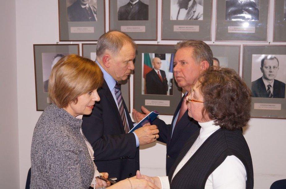 V.Andriukaičio ir pacientų organizacijų atstovų susitikimas