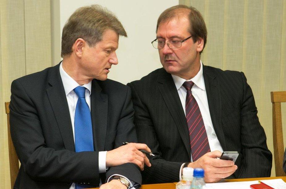 Rolandas Paksas ir Viktoras Uspaskichas
