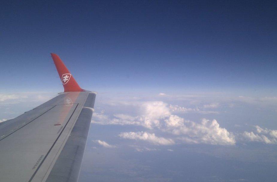 """""""Air Lituanica"""" skrydis į Briuselį"""