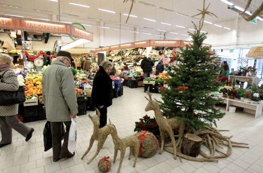 Kalėdinė prekyba Kaune