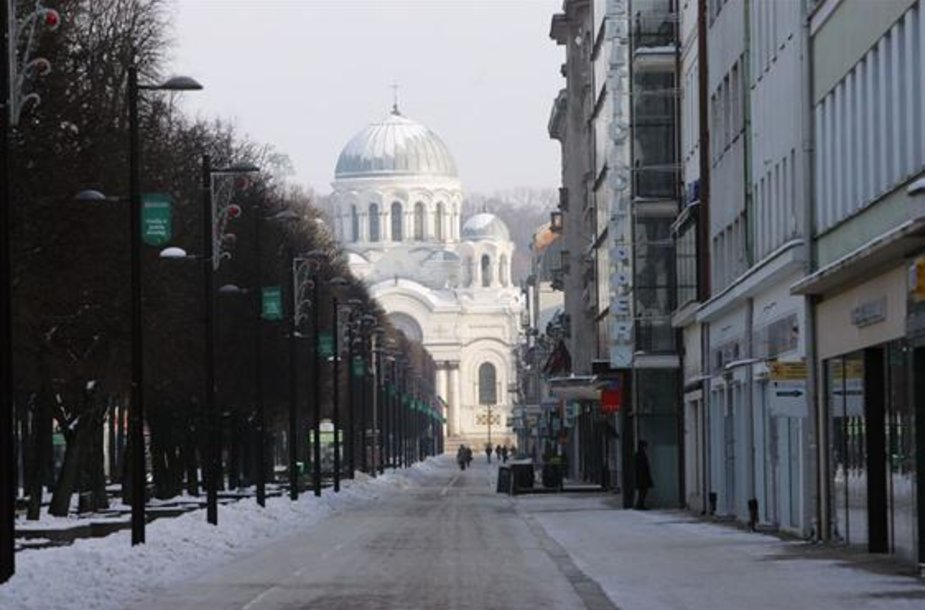 Kaunas žiemą