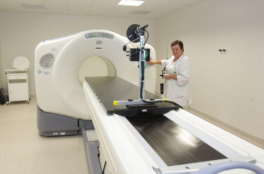 Pozitronų emisijos tomografas kainavo 11 mln. litų