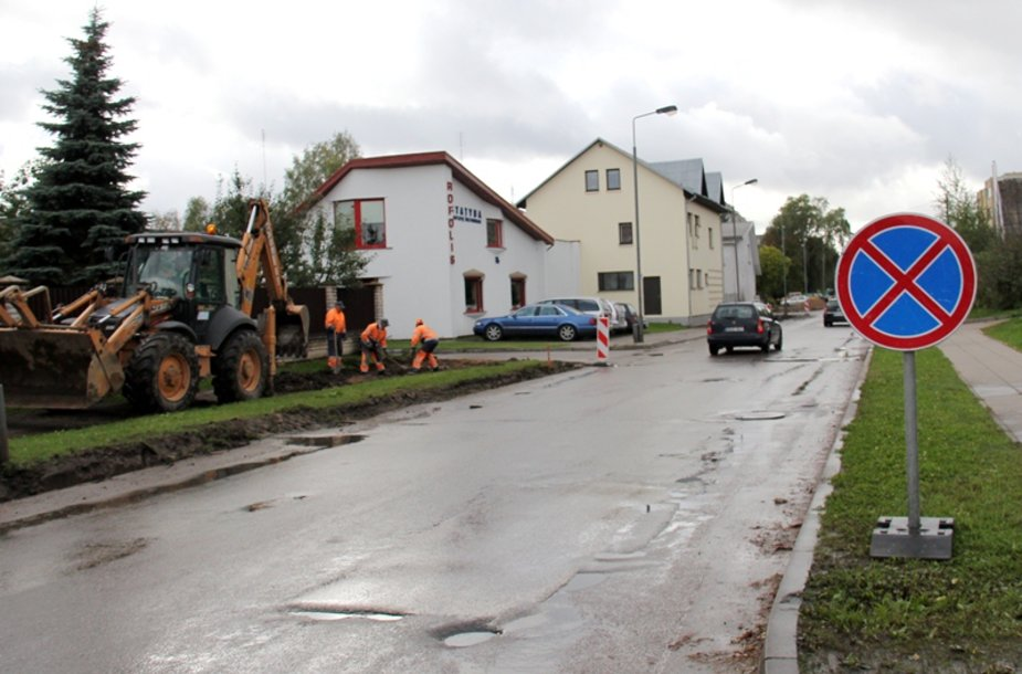 Partzanų gatvė Kaune