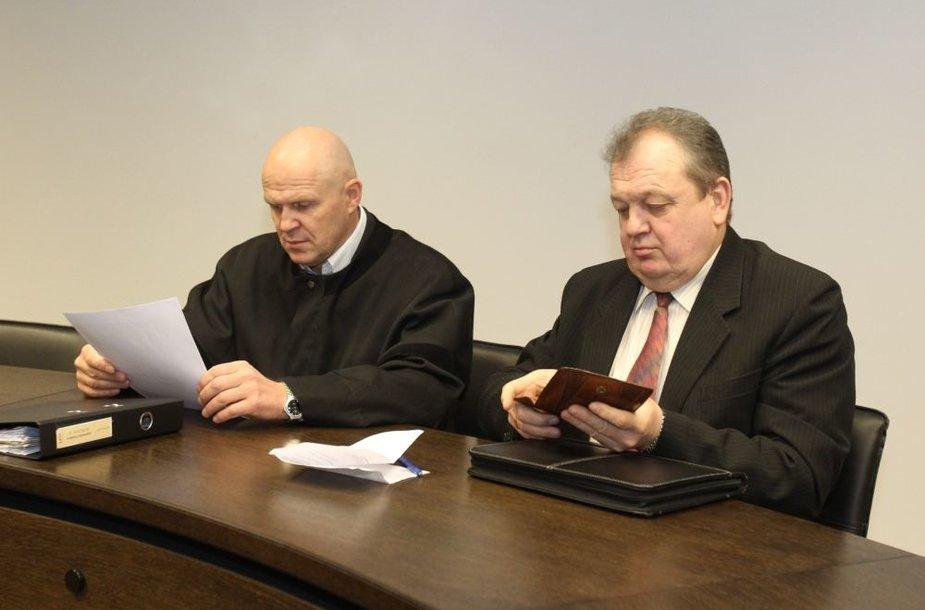 Gintaras Černiauskas (k.) ir Algimantas Puidokas