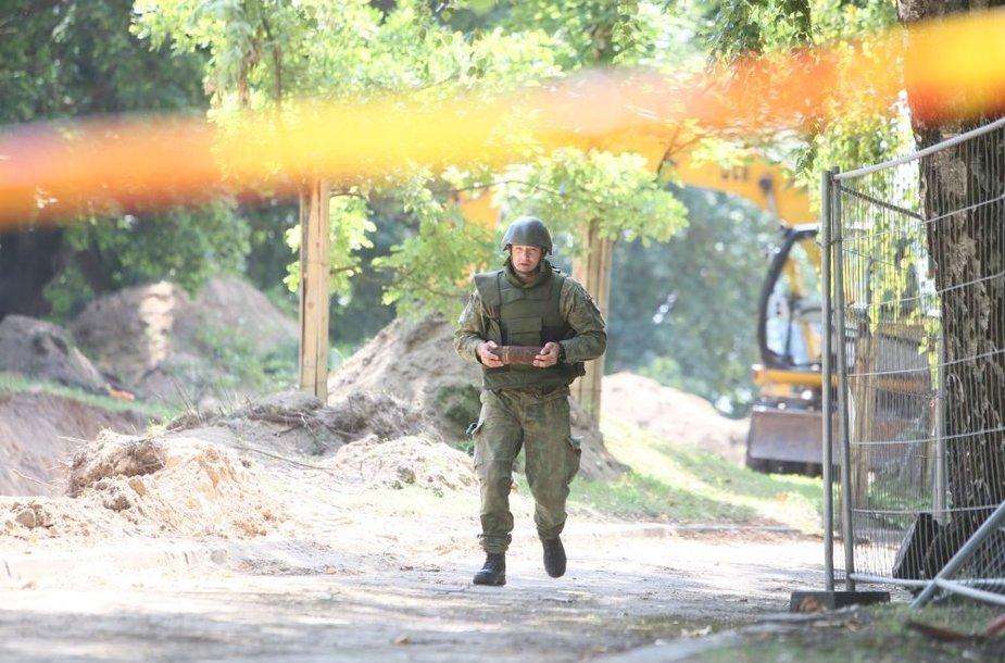 Prie Kauno klinikinės ligoninės rastas sprogmuo