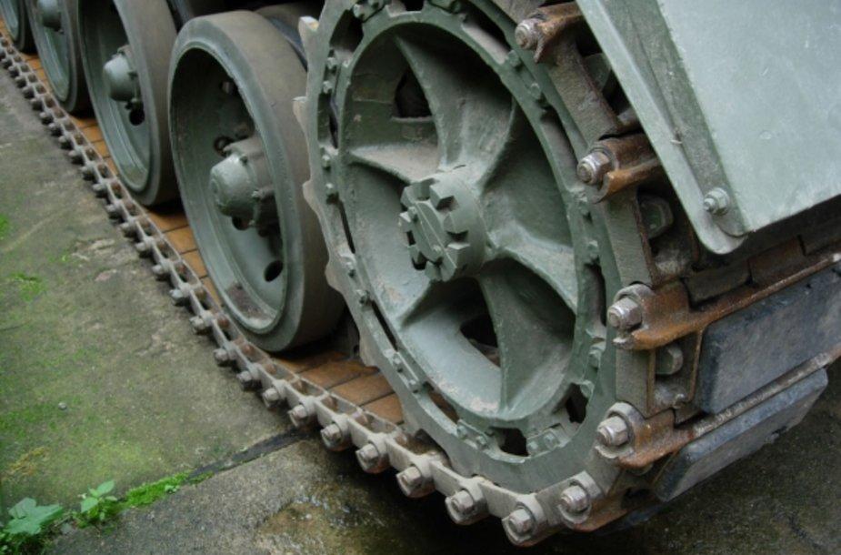 Sulaikytas britų gamybos šarvuotis FV432