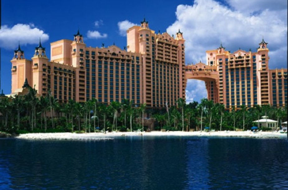 Atlantis viešbutis Bahamuose